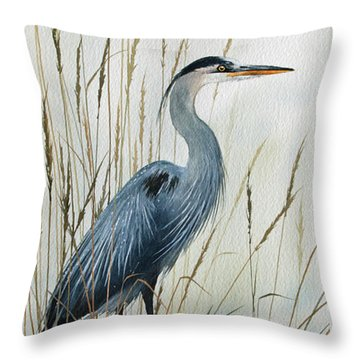 Natures Gentle Stillness Throw Pillow by James Williamson
