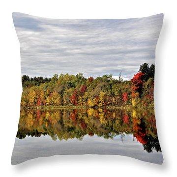 Natures Glow Throw Pillow