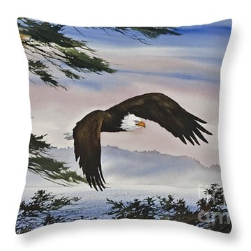 Natures Grandeur Throw Pillow by James Williamson