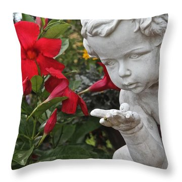 Nature's Guardian All Profits Benefits Hospice Of The Calumet Area Throw Pillow