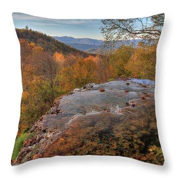 Nature's Infinity Pool Throw Pillow