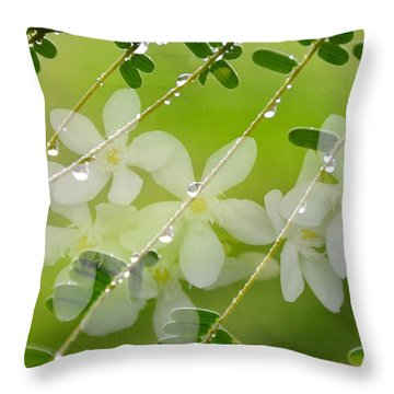 Nature's Jewelry Throw Pillow