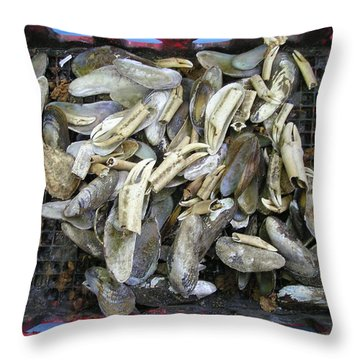 Nature's Junk Throw Pillow