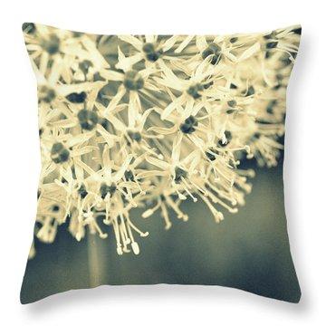 Nature's Popcorn Ball Throw Pillow