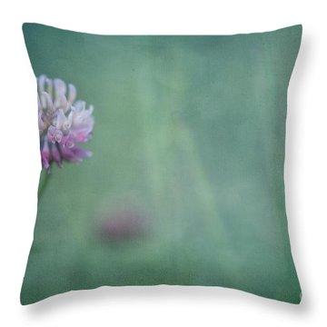 Natures Scent Throw Pillow by Priska Wettstein