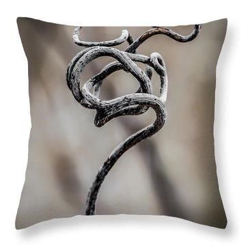 Natures Sculpture Throw Pillow