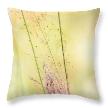 Natures Serenity Throw Pillow by Camille Lopez