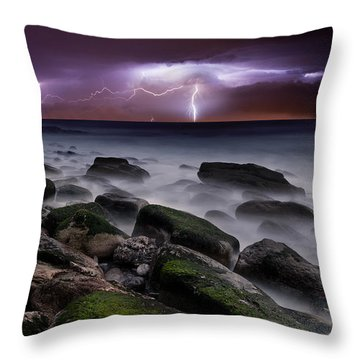 Nature's Splendor Throw Pillow by Jorge Maia