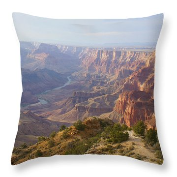 Natures Touch Throw Pillow