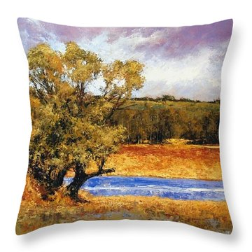 Nature's Trail - Ridgefield Throw Pillow