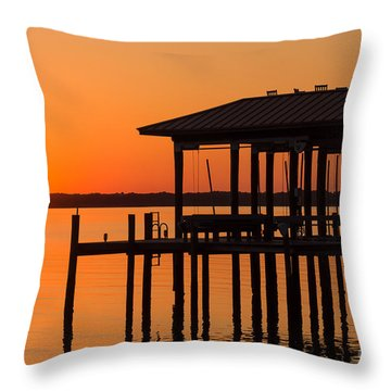 Natures Tranquility Throw Pillow
