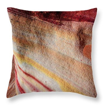 Nature's Valentine Throw Pillow by Chad Dutson