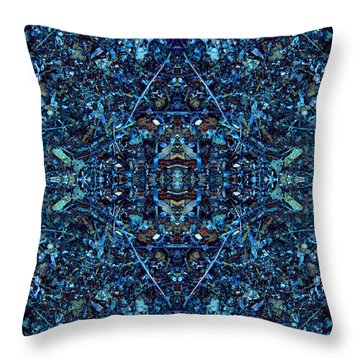 Magic Of Intricacy Throw Pillow