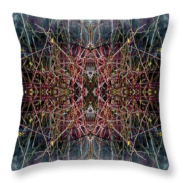 Direct Connection Throw Pillow