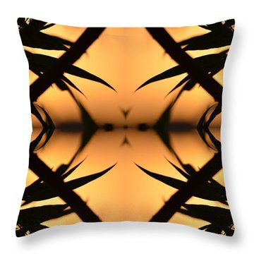 Nature's Window Of Opportunity Throw Pillow