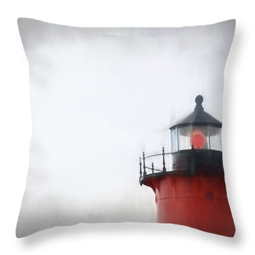 Nauset Lantern And Catwalk Throw Pillow