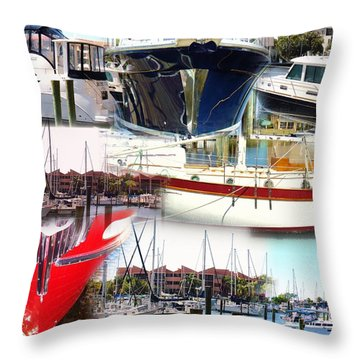 Nautical City... Throw Pillow