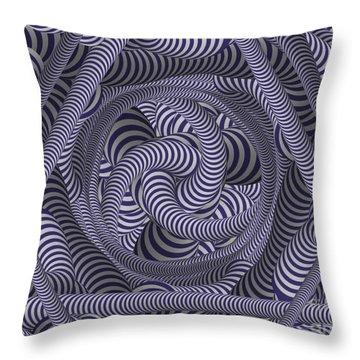 Nautical Coloured Design Throw Pillow