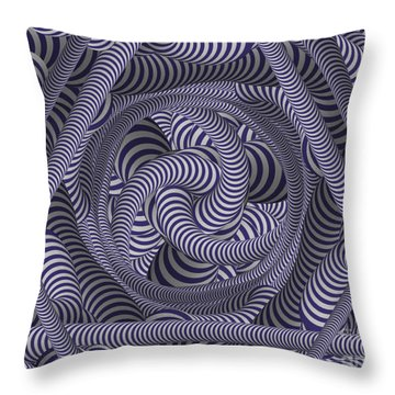 Nautical Coloured Design Throw Pillow