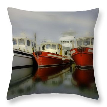 Throw Pillow featuring the photograph Nautical by Sonya Lang