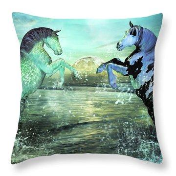 Nautical Treasures Throw Pillow