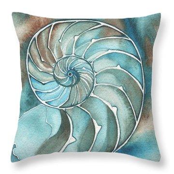 Shell Throw Pillows