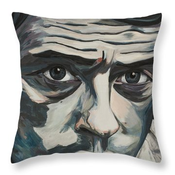 Ne Me Quitte Pas Throw Pillow