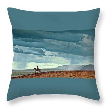 Cloudscape Throw Pillows