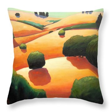 Near Day's End Throw Pillow