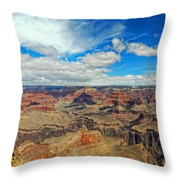 Near Perfect Day Throw Pillow by Dave Files