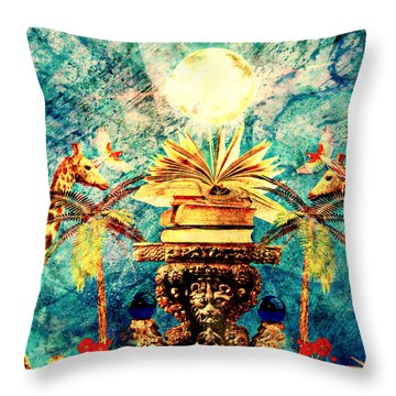 Near Reflections Throw Pillow