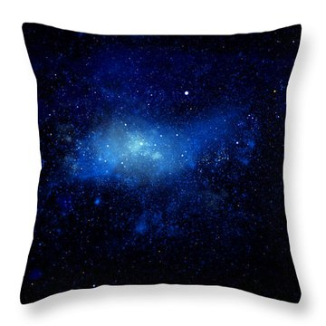 Nebula Ceiling Mural Throw Pillow by Frank Wilson
