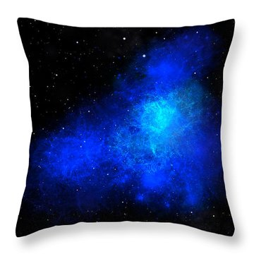 Nebula IIi Throw Pillow