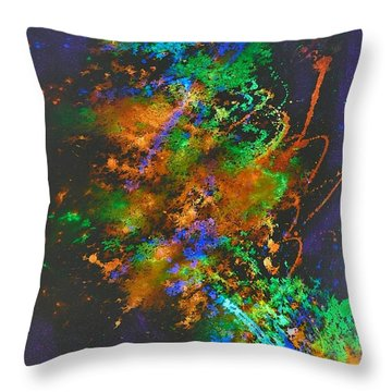 Nebulous Throw Pillow by Sylvie Leandre