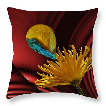 Nectar Of The Gods Throw Pillow by Barbara St Jean