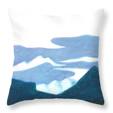 Nederland Afternoon Throw Pillow