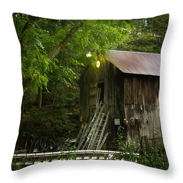 Need A Ladder? Throw Pillow