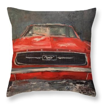 Need For Speed Throw Pillow by Lindsay Frost