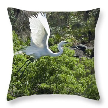 Need More Branches Throw Pillow