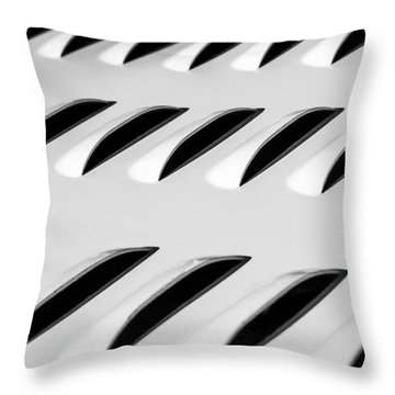 Throw Pillow featuring the photograph Need To Vent - Abstract by Steven Milner