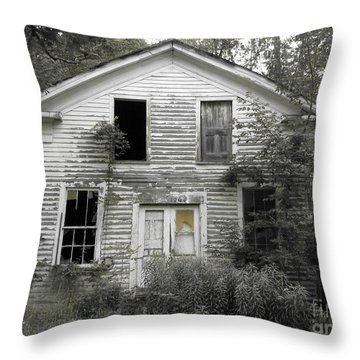 Needs A Little Work Throw Pillow by Michael Krek