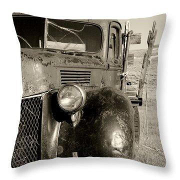 Needs Gas By Diana Sainz Throw Pillow