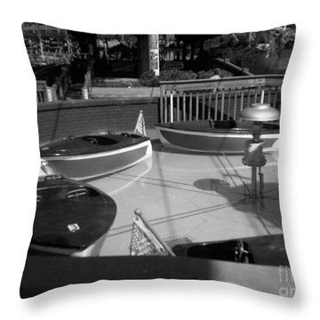 Throw Pillow featuring the photograph Needs Water Skis  by Michael Krek