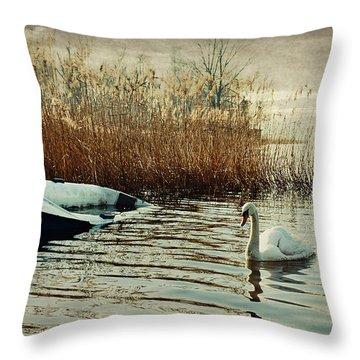 Neglected Throw Pillow