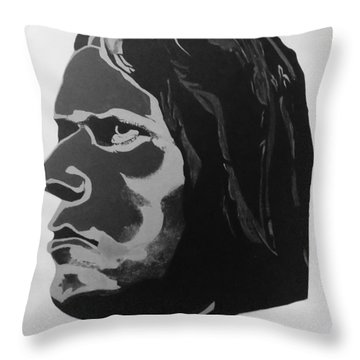 Neil Young  After The Gold Rush Throw Pillow