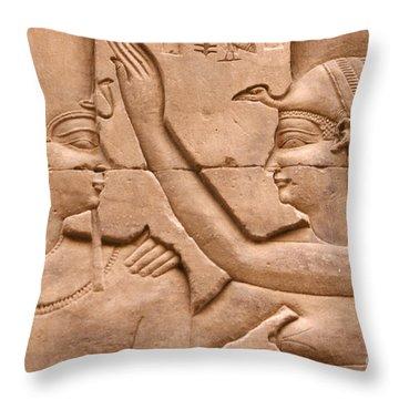 Nekhbet Throw Pillow by Stephen & Donna O'Meara