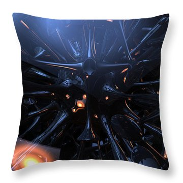 Nemesis Cell Throw Pillow