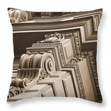 Neo-classical Architecture Throw Pillow
