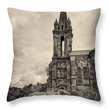 Neo Gothic Chapel Throw Pillow