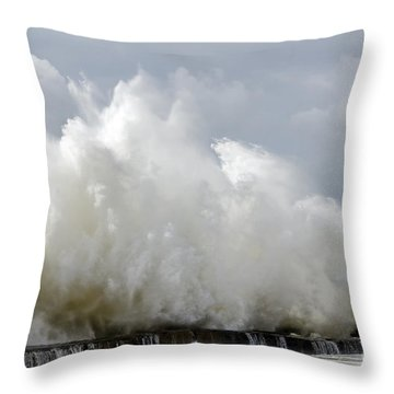 Neptune At His Best 02 Throw Pillow